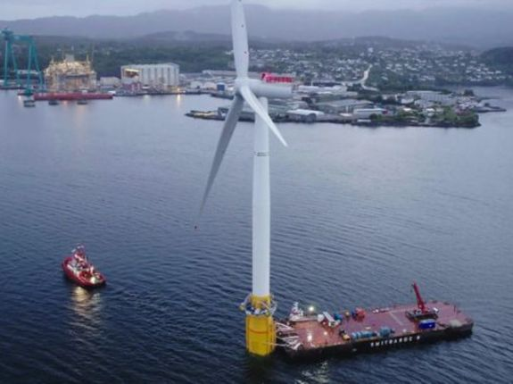 World's first floating wind farm created off Scottish Coast